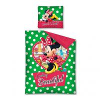 """DISNEY """"Minnie Mouse """" dvipusės patalynės komplektas (Žalias)"""