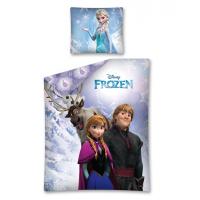 "DISNEY ""Ledo šalis"" patalynės komplektas (Sven, Kristoff, Anna, Elsa ir Olaf)"