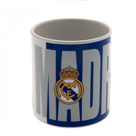 Real Madrid C.F. didelis puodelis (Pavadinimas + logotipas)