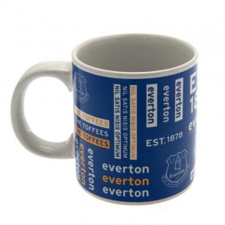 Everton F.C. didelis puodelis (Pavadinimas + logotipas)
