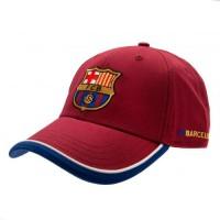 F.C. Barcelona kepurėlė su snapeliu (Raudona)