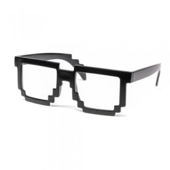 8 bitų pikselių akiniai nuo saulės