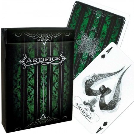 Ellusionist Artifice Emerald Green Bicycle kortos