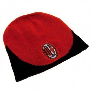 A.C. Milan žieminė kepurė (Raudona su juoda)