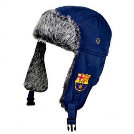 F.C. Barcelona žieminė medžiotojo kepurė