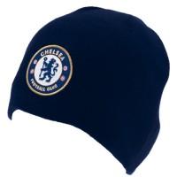 Chelsea F.C. žieminė kepurė (Tamsiai mėlyna)