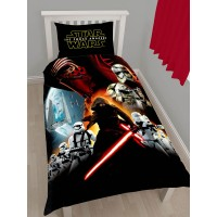 """Star Wars VII"" single duvet set"