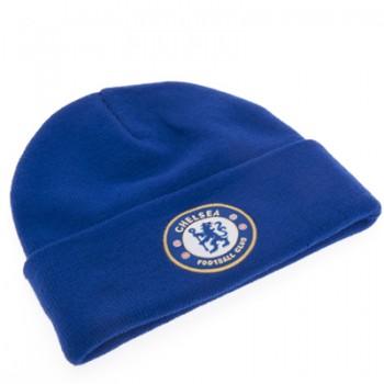 Chelsea F.C. atlenkta žieminė kepurė (Mėlyna)