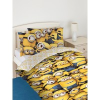 Despicable Me Minions Single Duvet Cover and Pillowcase Set