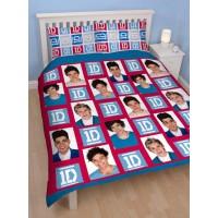 """One Direction"" dvigulės dvipusės patalynės komplektas ""Craze"""