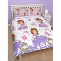 Sofia the First Academy Double Reversible Duvet Set