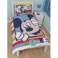 "DISNEY ""Mickey Mouse"" dvipusės patalynės komplektas ""Play"""