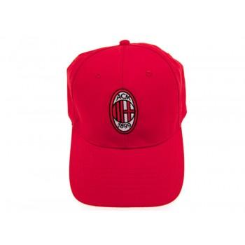 A.C. Milan kepurėlė su snapeliu (Raudona)