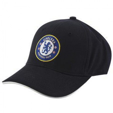 Chelsea F.C. kepurėlė su snapeliu (Juoda)