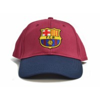 F.C. Barcelona kepurėlė su snapeliu (Raudona su mėlyna)