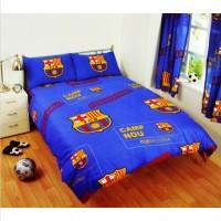 F.C. Barcelona dvigulės patalynės komplektas (Su pavadinimu)