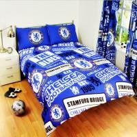 Chelsea F.C. dvigulės patalynės komplektas (Su pavadinimu)
