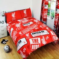Liverpool F.C. dvigulės patalynės komplektas (Su pavadinimu)