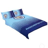 Manchester City F.C. dvigulės patalynės komplektas (Su pavadinimu)