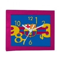 F.C. Barcelona stačiakampis stalo laikrodis