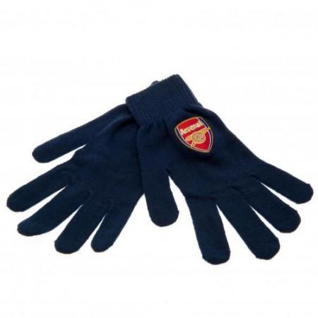 Arsenal F.C. žieminės pirštinės (Mėlynos)