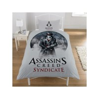 Assassin's Creed Syndicate Single Duvet Cover and Pillowcase Set