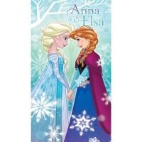 """DISNEY """"Ledo šalis"""" paplūdimio rankštluostis su Elsa ir Ana"""
