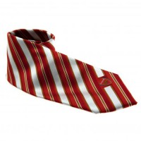 Arsenal F.C. kaklaraištis (Raudona ir balta)