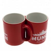F.C. Bayern Munich puodelis (Raudonas)