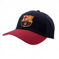 F.C. Barcelona kepurėlė su snapeliu (Juoda su raudona)