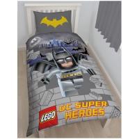 """Lego DC Superheroes"" Batmano dvipusės patalynės komplektas"