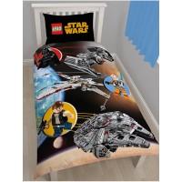 """""""Lego Space Wars"""" dvipusis patalynės komplektas"""
