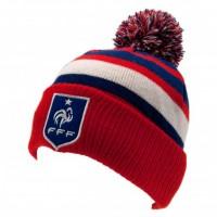 Prancūzijos futbolo rinktinės žieminė kepurė su bumbulu