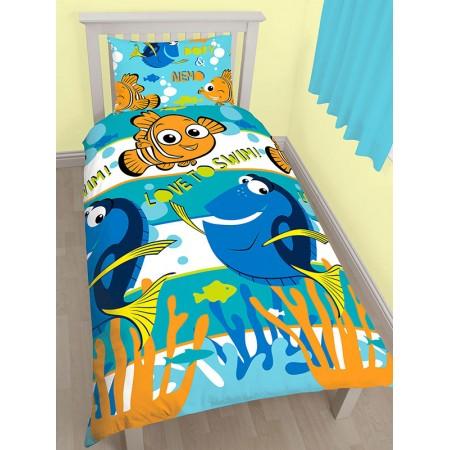 """Finding Nemo Dory"" dvipusės patalynės komplektas"