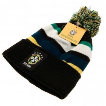 Brasil CBF žieminė kepurė su bumbulu