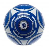 Chelsea F.C. futbolo kamuolys (Mėlynas su sidabriniais lankais)