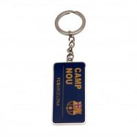 F.C. Barcelona raktų pakabukas (Stadiono adresas)