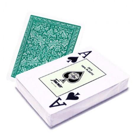 Fournier 2818 pokerio kortos (Žalios)