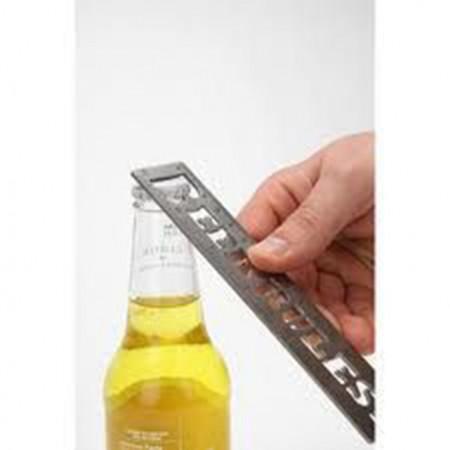 "Butelio atidarytuvas ,,BEER RULES"""