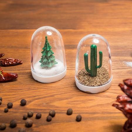 Druskinė ir pipirinė - medžiai