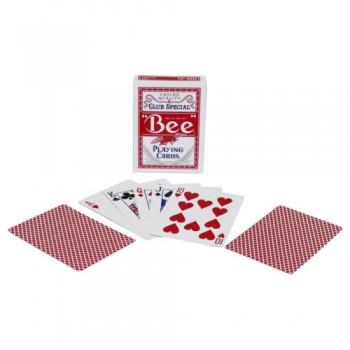 Bee Standard pokerio kortos (Raudonos)