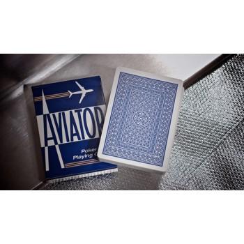 Aviator Standard pokerio kortos (Mėlynos)