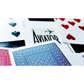 Aviator Standard pokerio kortos (Raudonos)