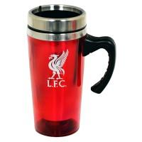 Liverpool F.C. kelioninis puodelis (Raudonas)
