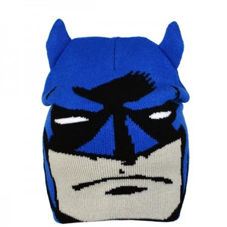 ''Batman'' vaikiška žieminė kepurė su ausimis