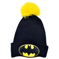 """Batman"" Knitted Ski Hat"