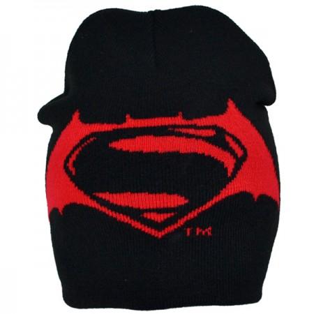 ''Batman vs Superman'' vaikiška žieminė kepurė