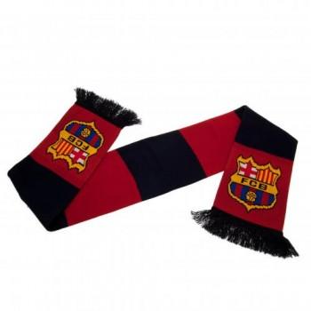 F.C. Barcelona šalikas (Juodas ir bordo)