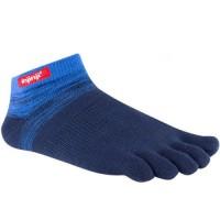 Injinji Sport Original Weight Micro penkių pirštų kojinės (Mėlynos)