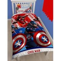 """Captain America Civil War"" dvipusis patalynės komplektas"